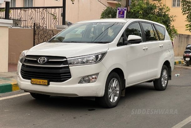 Innova Crysta rental for outstation