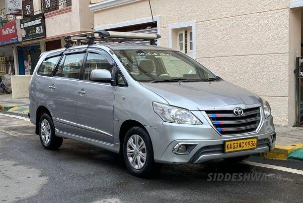 Innova Car On Rent In Bangalore