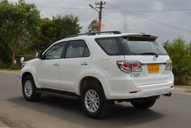 Toyota Fortuner for Hire in Bangalore