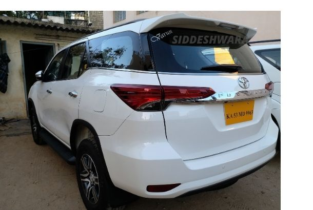 Toyota Fortuner for Rent in Bangalore