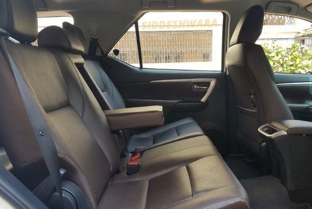 Toyota Fortuner Rental in Bangalore